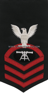 U.S. Navy Fire Control Technician (FT) Rating Badge
