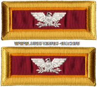 us army colonel ordnance shoulder straps
