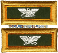us army colonel military police  shoulder straps
