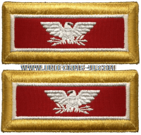 us army colonel engineer shoulder straps