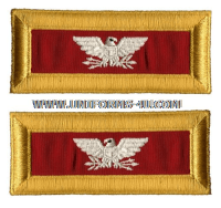 us army colonel artillery shoulder straps