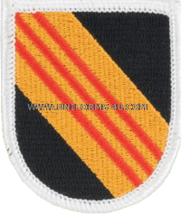 us army 5 special forces group old vietnam flash
