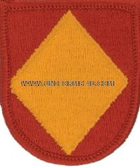 18 airborne corps artillery headquarters and headquarters battery flash and oval