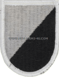 us army 167 cavalry 1st squadron flash and oval