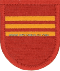us army 319 field artillery 3rd battalion flash and oval