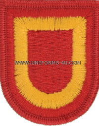 us army 407 supply and transportation battalion flash and oval
