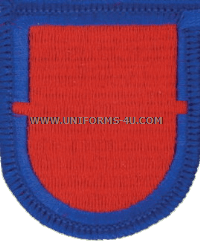 us army 501 infantry 1st battalion flash and oval