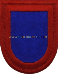 us army 505 infantry headquarters flash and oval