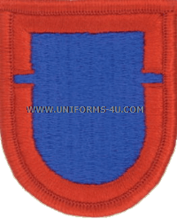 us army 505 infantry 1st battalion flash and oval