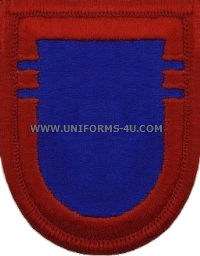 us army 505 infantry 2nd battalion flash and oval
