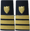 COAST GUARD COMMANDER HARD/ENHANCED SHOULDER BOARDS