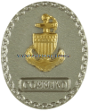 COAST GUARD SILVER BADGE - COMMAND
