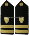 COAST GUARD LIEUTENANT HARD/ENHANCED SHOULDER BOARDS