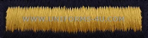 OVERSEAS BARS AND SERVICE STRIPES (ASU / DRESS)