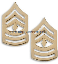 Army metal Chevrons 1st Sergeant