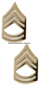 U.S. Army Pin-On Metal Sergeant First Class Chevrons