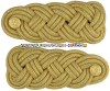 U.S. ARMY SHOULDER KNOTS (BLUE OR WHITE MESS DRESS)