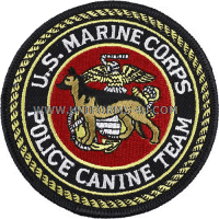 USMC Police Canine Team Patch