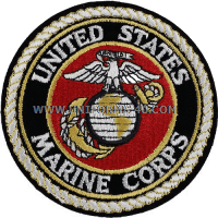 marine corps globe and anchor Patch