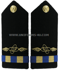 us navy hard shoulder board male cwo2 aviation electronics technician