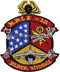 MARINE CORPS MALS-13 BLACK WIDOW Patch