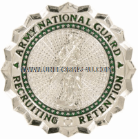 army national guard recruiting and retention badge