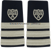 USCG Auxiliary hard/enhanced shoulder boards Division Commander (DCDR)