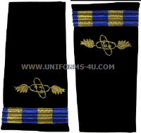 us navy soft shoulder board wo2 aviation electronics technician