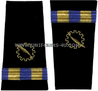 us navy soft shoulder board wo2 data processing