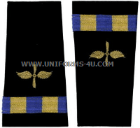 us navy soft shoulder board wo2 aviation maintenance technician