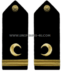 U.S. Navy Muslim Chaplain Corps Hard Shoulder Boards