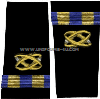 us navy soft shoulder board wo2 civil engineer corps