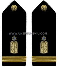 U.S. Navy Jewish Chaplain Corps Hard Shoulder Boards