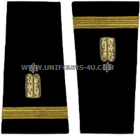 us navy soft shoulder Boards jewish corps