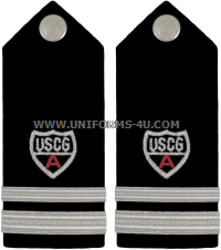 USCG Auxiliary hard/Enhanced shoulder boards DIVISION Staff Officer (SO)