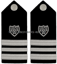 USCG Auxiliary hard/enhanced shoulder boards Division Vice Commander (VCDR)