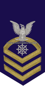 uscg quartermaster (qm) rating badge