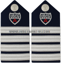 uscg auxiliary hard/enhanced shoulder boards DEPUTY ASSISTANT NATIONAL COMMODORE (ANACOd)