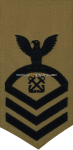 us navy boatswain's mate (BM) rating badge