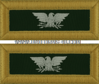 us army staff specialist shoulder straps