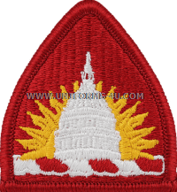 district of columbia national guard headquarters acu military patch