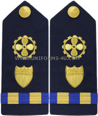 coast guard marine safety specialist engineering warrant officer hard shoulder boards