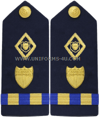 coast guard maritime law enforcement warrant officer hard shoulder boards