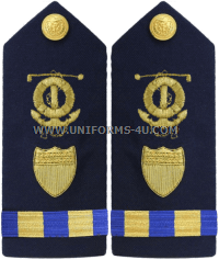 COAST GUARD MARINE SAFETY SPECIALIST DECK WARRANT OFFICER HARD SHOULDER BOARDS