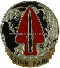 U.S. Army Special Operations Command Unit Crest
