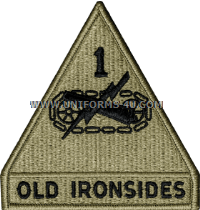 U.S. Army 1st Armored Division Patch