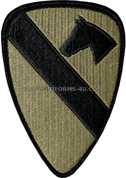 U.S. ARMY 1ST CAVALRY DIVISION PATCH 6ac06b5be4a