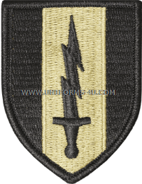 us army 1st signal brigade Patch