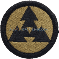 us army 3rd coscom logistics command Patch