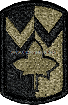 US ARMY 4th SUSTAINMENT BRIGADE Color PATCH